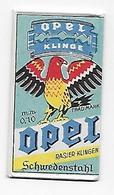 LAMETTA DA BARBA - OPEL KLINGE   -   ANNO 1950  - POCO COMUNE - Lamette Da Barba