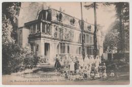 CPA 92 BOULOGNE Pouponnière HELENE , 14 Boulevard D' Auteuil - Boulogne Billancourt