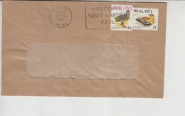 Malawi Airmail Cover To Pakistan, Stamps Birds   (Red-2319) - Malawi (1964-...)
