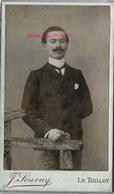 CDV Augustin Breson En 1905-photo J. Souvay - Le Thillot - Photos