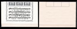 CSSR 1934 Mi 0331 Mint National Hymne Music Under-part Of The HYMNE-blocks F&b Exellent Condition 814 - Czechoslovakia