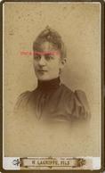 CDV Jeanne MAILLEFERT Photographe H. Lagriffe Fils à Paris - Old (before 1900)