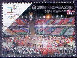 Used Korea,South 2018, Korean Medalists At 2018 Winter Olympics, Pyeongchang 1V. - Korea, South