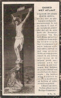 DP. JOANNA DEBRUCHGRAVE ° LAMPERNISSE 1835 - + LEYSELE 1920 - Religione & Esoterismo