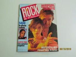 Magazine Rock & Folk N°227 (Février 1986) - Musique