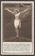 DP. DESIRE BRUTSAERT ° LEYSELE 1839  - + ROUSBRUGGE 1922 - GEWEZEN LUITENANT VAN HET TOLBEHEER - Religione & Esoterismo