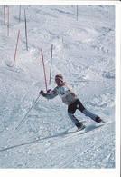 Team Grønland Slalon Skiing Greenland Postcard - 1994 Unused - Groenland