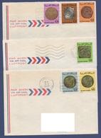 MAROC 1976 -  1979  N°  YT 772 836  Anciennes Monnaies Marocaines / Sur Enveloppes Vers La France - Maroc (1956-...)