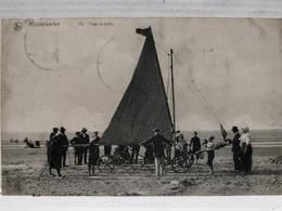 Middelkerke. Char-à-Voile. Grosse Animation. 1912 - Middelkerke