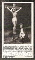 DP. OORLOG 14-18  THEOPHIEL DEMUYNCK ° MOORSLEDE 1869 -+ ROESELARE DOOR OORLOGSONGELUK 1918 - Religione & Esoterismo