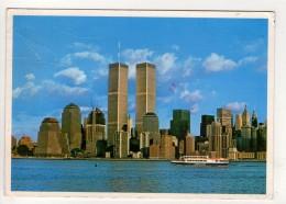 CP 10*15-ZC1670-WATERFRONT VIEW OF LOWER MANHATTAN SKYSCRAPERS NEW YORK CITY - Manhattan