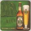 MB PIVO BIER BEER PILSENER  MB BREWERY NOVI SAD SERBIA - Beer Mats