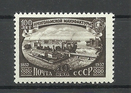RUSSLAND RUSSIA ESTICA 1957 Michel 1986 * - Unused Stamps