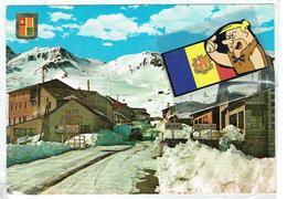 CP ANDORRE PAS 1968 CIRCULE AVEC  TIMBRE AND-ESP. (aNDORRE JA A 50 ANNES) - Andorre