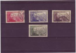 MADAGASCAR 1939 N° 222 / 225 OBL - Used Stamps