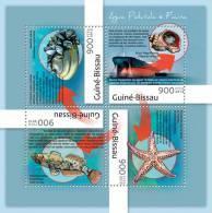 GUINEA BISSAU 2012 - Water Pollution - YT 4598-4601, Mi 6317-20 - Pollution