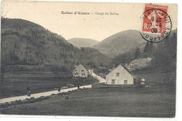 BALLON D'ALSACE . GORGE DU BALLON  . AFFR SUR RECTO LE 23-4-1909 - Autres Communes