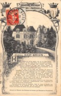 33-HAUT BRION-LE CHÂTEAU-N°363-G/0125 - Autres Communes