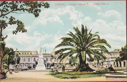 Rare Old Postcard Tarjeta Postal Cuba Havana Habana Parque Central II Estatua De José Martí Colonial Period - Cuba