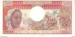 Gabon P.2b 500 Francs 1978 Unc - Gabon