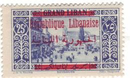 GRAND LIBAN N° 115 * - Gross-Libanon (1924-1945)