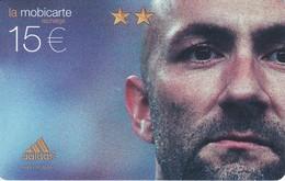 TARJETA DE FRANCIA DE FUTBOL DE FABIEN BARTHEZ   SPECIMEN (FOOTBALL) - Francia