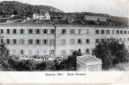 Cpa (20-2a)--ajaccio  - Ecole Normale. - Ajaccio
