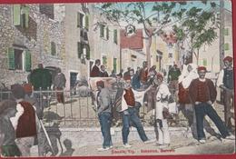 Rare Old Postcard Sibenik Sebenico Mercato Croatia Hrvatska Dalmatia Kroatie Chromatography - Croatie