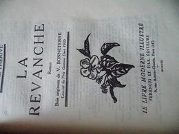 La Revanche André Thérive .EDITION ORIGINALE .RELIURE DEMI CUIR CHAGRIN.  PARFAIT ETAT. - Other