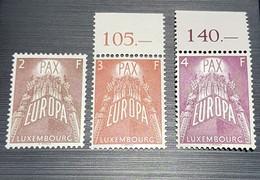 Luxembourg Europa Pax- 1957- Neufs - Ongebruikt