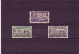 GRAND LIBAN POSTE AERIENNE N° 94 / 96 * - Gross-Libanon (1924-1945)