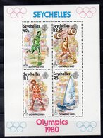 SEYCHELLES  Timbres Neufs ** De 1980  ( Ref 5735  ) Sport - JO - Seychelles (1976-...)