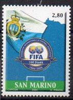 SAINT MARIN  Timbre Neuf ** De 2004  ( Ref 5736  ) Sport - Football - Saint-Marin
