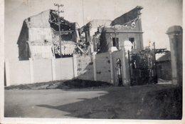 BASE AERONAVALE DE BERRE 1945  SEPIA    BOMBARDEMENT? - Guerre, Militaire