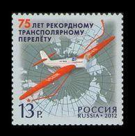 Russia 2012 Mih. 1839 Aviation. Transpolar Record Flight MNH ** - 1992-.... Föderation