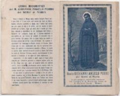 Santino Con Reliquia Del Beato Giovanni Angelo Porro (Barlassina, Monza E Brianza 1451 - Milano 1505) - Devotion Images