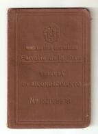 BIGLI--0015-- FERROVIE DELLO STATO- TESSERA RICONOSCIMENTO ANNO DI EMISSIONE 1940 - Europa