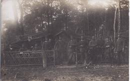 Soldatengruppe   Garde Ersatz Div - Mit Feldunterkunft     - AK 11.248 - Personnages