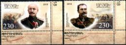"Artsakh 2018 ""Centennial Of The May Heroic Battles "" 2v Quality:100% - Armenia"