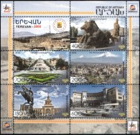 "Artsakh 2018 ""2800th Anniversary Of The Capital Of Armenia, Yerevan"" Bl Quality:100% - Armenia"