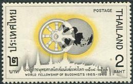 Thailand 1967. Michel #484 MNH/Luxe. World Community Of Buddhists. (B45) - Thaïlande