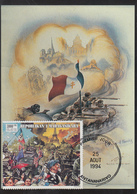 Carte  Maximum  1er  Jour  MADAGASCAR   Anniversaire   Libération  De  PARIS   1994 - Madagascar (1960-...)