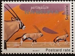 Namibia 2017 Neuheit Spießbock Tiere Fauna Antilope Tierschutz Afrika - Namibie (1990- ...)