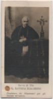 Santino Con Reliquia Del Servo Di Dio Giovanni Battista Scalabrini (Fino Mornasco, Como 1839 – Piacenza, 1905) - Santini