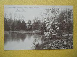 STRASBOURG. L'Orangerie. Le Lac Et La Maison Alsacienne. - Strasbourg