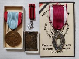 Lot De Médailles Ayant Appartenu à Dumont Alfred, Belgique - Belgium