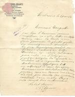 Facture Lettre 1923 / LUXEMBOURG / MELREUX /  ETIENNE- BRANTZ / Mécanicien / Moulins, Scieries - Luxembourg