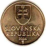Slovakia - 50 Halierov 2007 UNC Bank Ba6 - Albanië