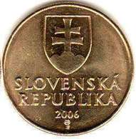 Slovakia - 50 Halierov 2007 UNC Bank Ba6 - Albania