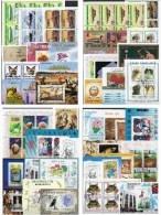 Motive Block-Puzzle PA-PZ 200 Block/Kleinbogen O 1000€ Sport Tiere Bloque Hb Bloc Art Sheets M/s Sheetlet Bf Topics - Stamps